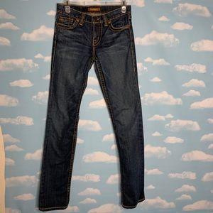 David Kahn- Straight Leg Dark Wash Jeans size 26